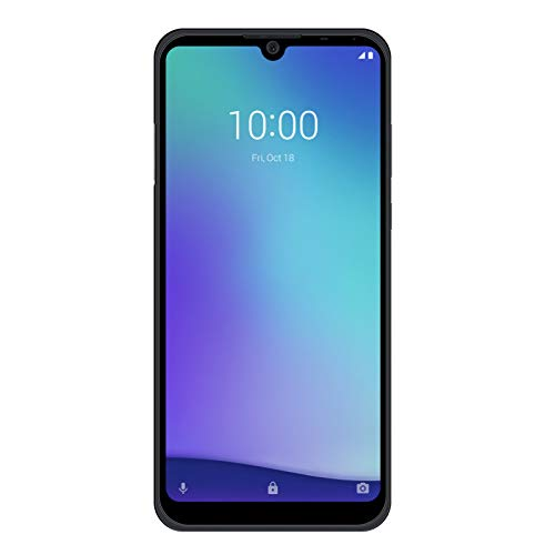 "ZTE Blade A5 2020 (32GB, 2GB) 6.09"" HD Edge to Edge Display, 3200mAh Battery, Dual SIM GSM Unlocked US 4G LTE (T-Mobile, AT&T, Metro, Straight Talk) International Model (Black)"