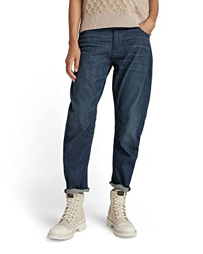 G-STAR RAW Arc 3D Boyfriend Jeans, Nero (Worn in Leaden C922-C776), 27W x 30L Donna