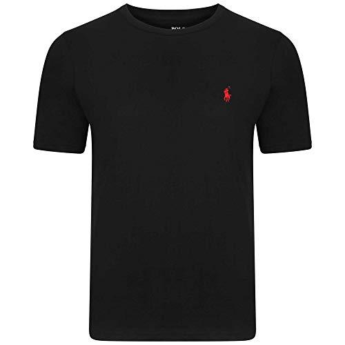 T-Shirt Ralph Lauren T-Shirt manica corta su misura girocollo, S-M-L-XL-XXL Outlet Taglia XL