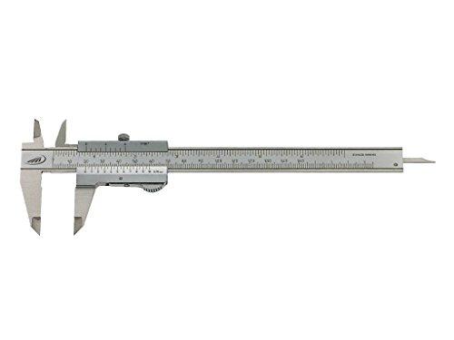 Preisser 0190501 Taschenmessschieber Duo Fix L.150mm Ablesung 0,05mm Schnabel-L.40mm