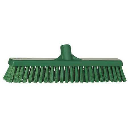 VIKAN Green Polyester Fine Sweeping Combo Floor Broom