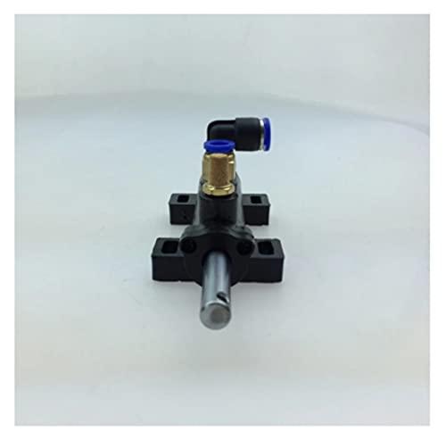 ChubChub LHLL Herramientas de reparación Máquina de eliminación de neumáticos Válvula de Gas neumática Cinco Manera Desmontable Válvula de Pedal de pie 10mm Herramienta de inspección de automóviles