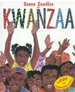 The seven candles for Kwanzaa