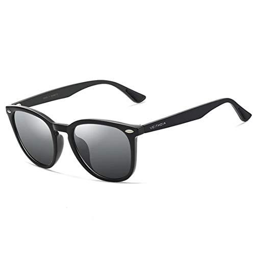 VEITHDIA Women Men Unisex gafas de sol Aluminium Polarized, UV400, Anti-Reflective 6116
