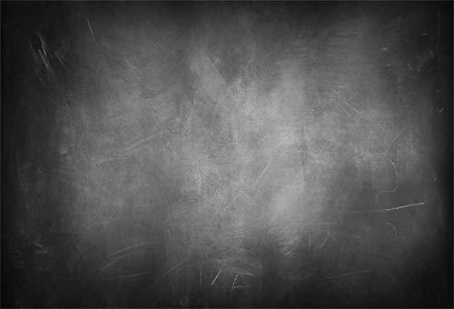 Yeele Grunge Hintergr&, 3 x 2,4 m, Schwarz & Grau, Shabby Chic, düstere, roste, weiß gekalkte Müllbilder, für Erwachsene, künstlerische Porträtfotos, Requisiten, Fotografie, Hintergr&