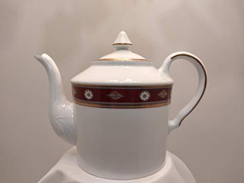 Juego de té de 15 piezas de porcelana decorada bajo esmalte DEC 95043. D.ANCIENNE - MANIFACTURE - PORCELAINE - RICHELIEU by Monno Castiglia