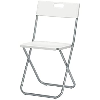 Gunde Chaise Pliante Blanc K Hagberg M Hagberg Amazon Fr Jardin