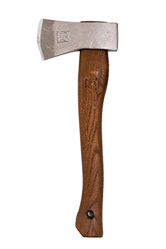 オヨ(OYO) 斧 ヒュッテ ノルウェー 手斧 キャンプ アウトドア ハイキング 34�p OY001 革刃カバー付
