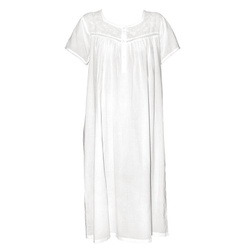 Molly Cotton Nightgown by The Irish Linen Store