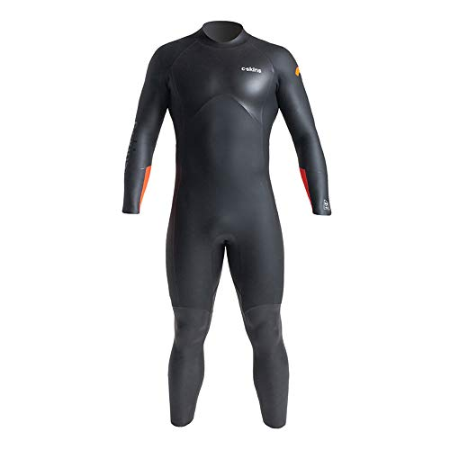 C Skins SWM Open Water Zwemmen 4/3 Wetsuit Zwart