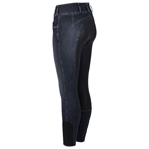 Pikeur Damen Candela Jeans Reithose Denim Spot