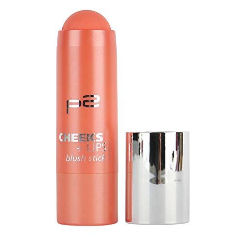 5x p2 cosmetics Make-up Teint Rouge Cheeks Lips Blush Stick 010