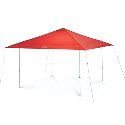 OUTBOUND Straight Leg Canopy Tent | Instant 13 x 13 Pop-Up Shelter with Carry Bag | Red