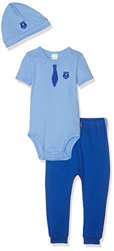 Schiesser Baby-Jungen Polizei Unterwäsche-Set, Mehrfarbig (Sortiert 1 901), 86 (Herstellergröße: 086) (3er Pack)