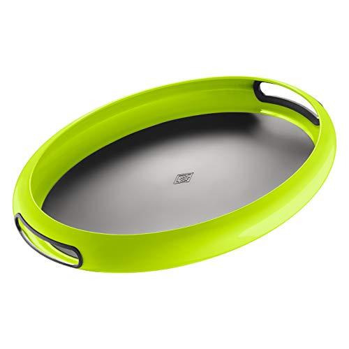 Wesco Tablett Spacy tray Oval, limegreen