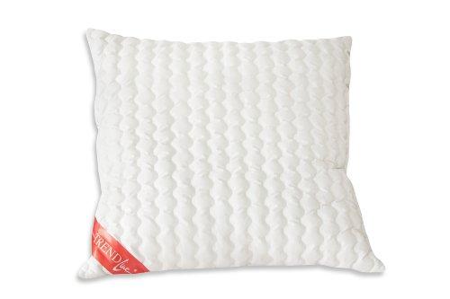 Badenia Bettcomfort Kissen Trendline Basic kochfest, 80 x 80 cm, weiß