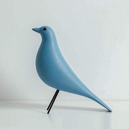 OYQQ Ornamente Statue Bronzefigur Vogel Abstrakte Figur Harz Tauben Statuen Kreative Tier Moderne Wohnkultur