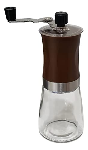 Moedor Café Manual Vidro Inox