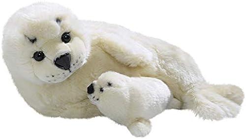 gran descuento Carl Dick Peluche - Sello Sello Sello con Bebé (Felpa, 43cm) [Juguete] 3166  caliente