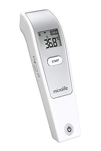 Microlife NC-150 Termómetro sin Contacto para Personas, Objetos y Temperatura Ambiente