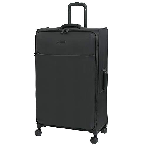 it luggage Lustrous Lightweight Expandable Spinner Wheels, Charcoal, Checked-X-Large 32-Inch