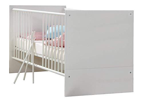 Wimex 310224 Babybett, 70 x 140 cm mit Schlupfsprossen