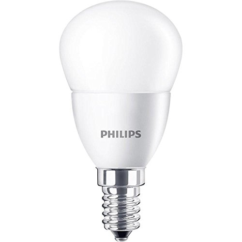 Philips ampoule LED Sphérique E14 4W Equivalent 25W Blanc chaud