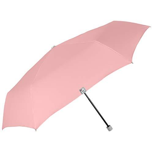 PERLETTI Paraguas Mujer Tonos Pastel Extra Compacto - Paraguas Plegable para Bolsas...