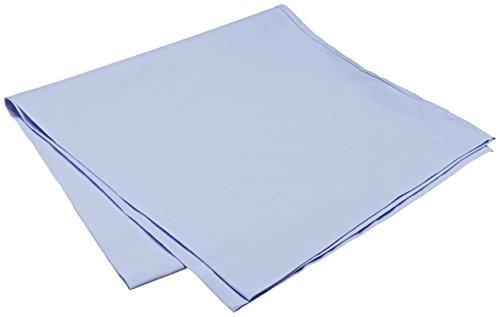 Pikolin Home - Almohadón, funda de almohada, 100% algodón, almohadas de 135 y 150cm, color azul claro (Todas las medidas)