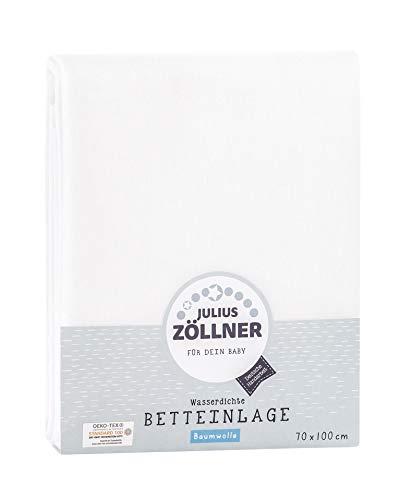 Julius Zöllner - Wasserdichte Betteinlage - Matratzenschutz 70 x 100 cm