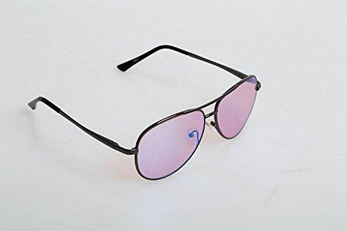 Pilestone Color Blind Glasses TP-006 Aviators for Red/Green Color Blindness