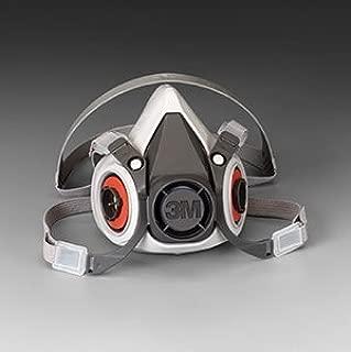 Small 3M Half Facepiece 6000 Series, Reusable Respirators - (8 Respirators) - R3-6100