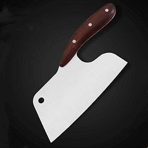 De cortar cuchillo de cocina de 8 '' pulgadas mango de acero inoxidable cuchillo de cocina de madera lleno de la espiga de cocción máquina de cortar de cocina Accesorios Herramientas