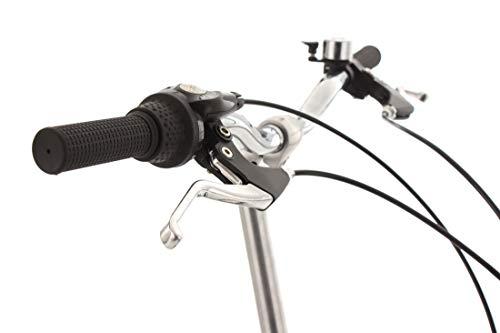 KS Cycling Fahrrad Klapprad Fx300 3-Gänge, Grün/Weiss, 20 Zoll, 580B - 5