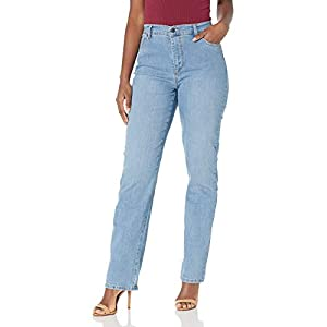 Women's Plus Size Amanda Classic High Rise Tapered Jean