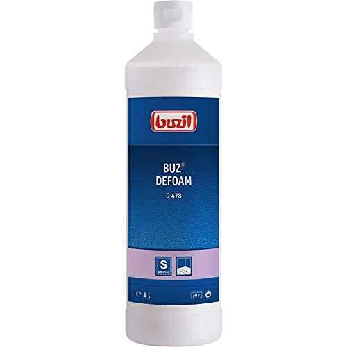 Buzil Entschäumer BUZ Defoam G478 Anti Schaum Behandlung, für alle Wassertanks, weiß, 1 ltr