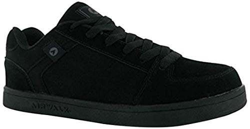 Zapatillas Airwalk para hombre, de ante, color Negro, talla 9.5 UK