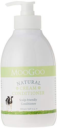 MooGoo Natural Cream Conditioner Scalp-friendly Conditioner 500ml/169fl. oz.
