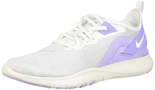 Nike Wmns Flex Trainer 9, Scarpe da Fitness Donna, Multicolore (Purple Agate/White-Amethyst Tint 500), 38.5 EU