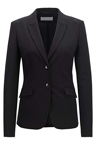 BOSS Damen Julea Regular-Fit Blazer aus Italienischer Stretch-Schurwolle