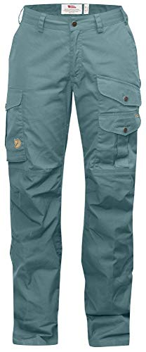 Fjallraven Barents Pro Curved Trousers W - Damenhose, Grün (Frost Green)