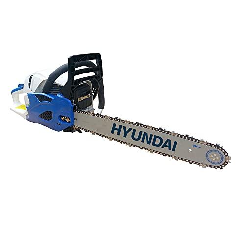Hyundai, HY-HYC4618, Motosierra, 18 W, Azul y Negro,