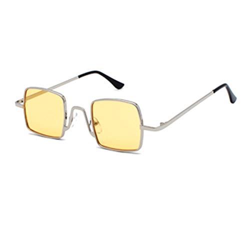 MU CHAOHAI Mode Zonnebril Retro Metalen Frame vierkante Piloot Grote doos Glazen Schaduw Zonnebril