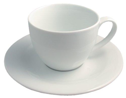 Revol 616080 Lipari Paire Tasse Déjeuner Porcelaine Blanc 9,5 cm