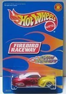 Hot Wheels - Special Edition - Firebird Raceway - Flame Dragger - 1:64 Scale Classic Collector Car Replica. Metalflake Red, Yellow & White Body Colors w/Flame Graphics