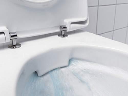 Keramag Renova Nr.1 Tiefspül-WC spülrandlos 4,5/6l wandhängend weiß KeraTect - 3