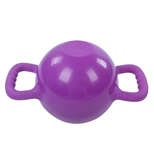 Victool Acqua Fitness Kettlebell, Yoga Fitness Acqua riempita Kettlebell Dimagrimento Attrezzature per l'allenamento Pilates Esercizio Allenamento Domestico(Viola)