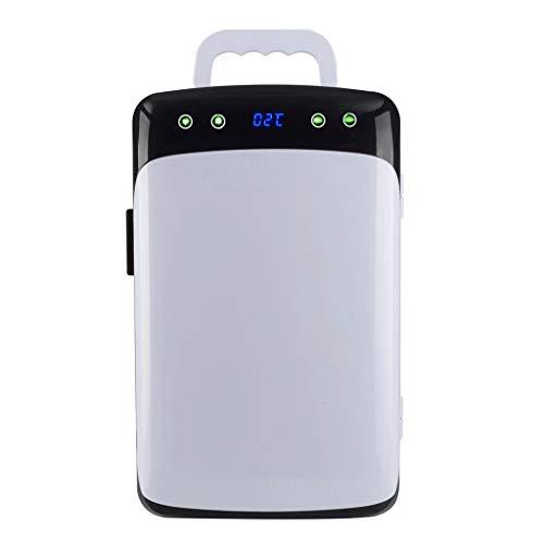 BYZHP Mini Nevera Mini Refrigerador Mini refrigerador Frigorífico pequeño 12L Calentador de refrigerador portátil con Control de Temperatura Digital Refrigerador de Coche