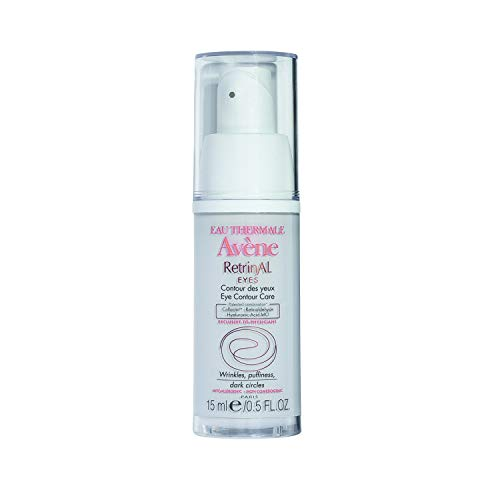 Eau Thermale Avene RetrinAL EYES, Retinaldehyde & Hyaluronic Acid MO, Reduce the Appearance of Fine Lines, Puffiness, Dark Circles, 0.5 oz. (0.1% Cream)