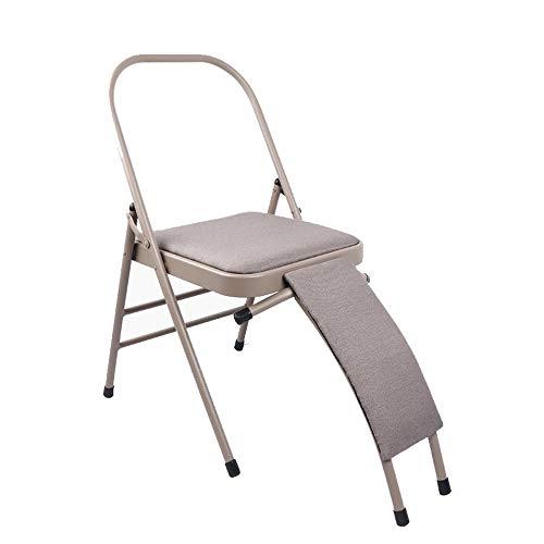 Best Bargain DaQingYuntur Chair Yoga,Sit, Stretch, Backless Yoga Chair Prop - Flexibility and Stre...
